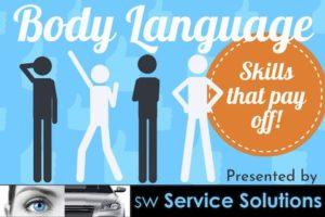Body Language Skills That pay off webinar promo image